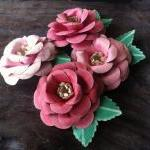 Handmade Paper Roses - Bubblegum Dr..